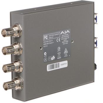 AJA FiDO-4T FiDO Quad-Channel 3G-SDI to LC Fiber Mini Converter
