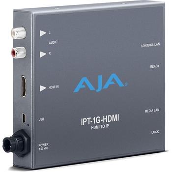 AJA IPT-1G-HDMI HDMI Video and Audio to JPEG 2000 Converter