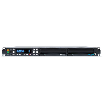 AJA Ki-Pro-Rack Rack Mount File Based Recorder/Processor in 422 ProRes and Avid DNxHD