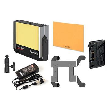 Cineo Lighting 901.0083 Maverick LED Light Bi-Color Portable Gold Mount Kit