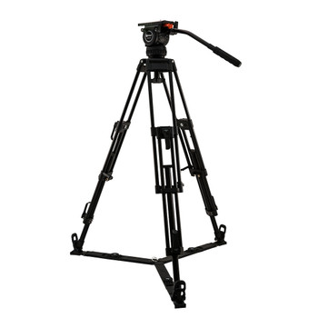 Contour System CT15K Video 15 Fluid Head with 2-Stage 75mm Aluminum Tripod