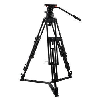 Contour System CT20K Video 20 Fluid Head with 2-Stage 100mm Aluminum Tripod