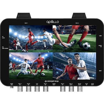 Convergent Design 100-10025-100 Apollo OLED Monitor, Recorder, Switcher