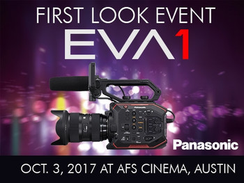 First Look Panasonic EVA1 Event