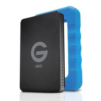 G-Technology 0G04755 500GB G-DRIVE ev RaW USB 3.1 Gen 1 SSD with Rugged Bumper