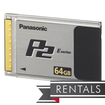 Panasonic 64GB P2 Media