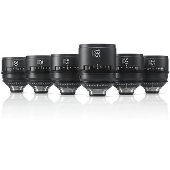Sony SCL-PK6/F CineAlta 4K Six Lens Kit (PL Mount)