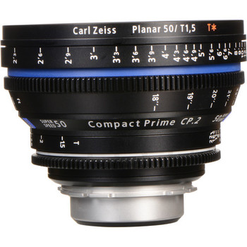 Zeiss 1956-595 Compact Prime CP.2 50mm/T1.5 Super Speed PL Mount (with Imperial Markings)