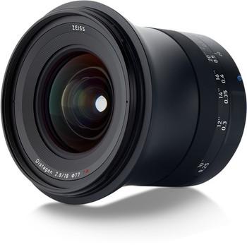 Zeiss 2096-517 Milvus 18mm f/2.8 ZE Lens for Canon EF