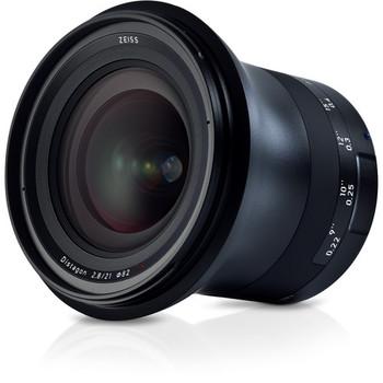 Zeiss 2096-549 Milvus 21mm f/2.8 ZE Lens for Canon EF