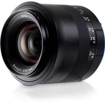 Zeiss 2096-555 Milvus 35mm f/2.8 ZE Lens for Canon EF