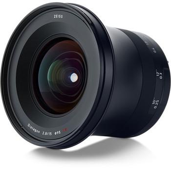 Zeiss 2111-790 Milvus 15mm f/2.8 ZE Lens for Canon EF