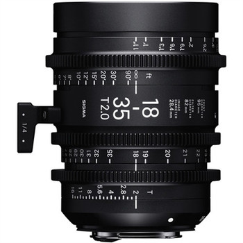 SIGMA 210966 18-35MM T2 HIGH-SPEED ZOOM LENS (CANON EF)