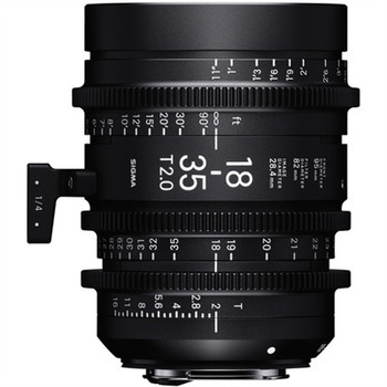 SIGMA 210968 18-35MM T2 HIGH-SPEED ZOOM LENS (PL MOUNT)
