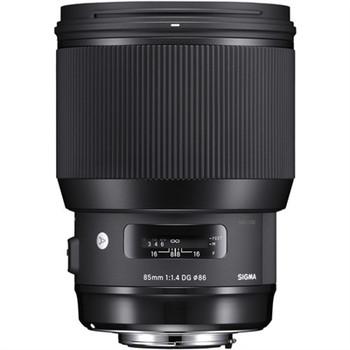Sigma 321954 85mm f/1.4 DG HSM Art Lens for Canon EF