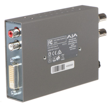 AJA HDP3 3G-SDI to DVI-D and Audio Converter