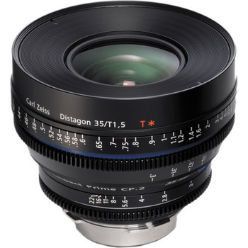 ZEISS 1916-640 Compact Prime CP.2 35mm/T1.5 Super Speed PL Mount