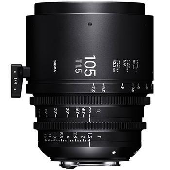 SIGMA 105mm T1.5 FF High Speed Prime Cine Lens