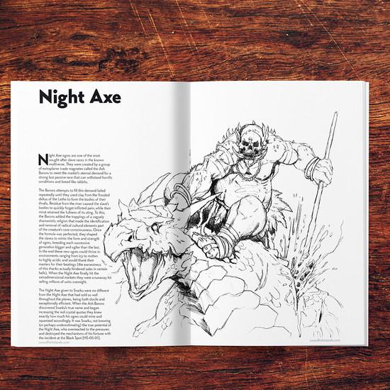 Night Axe - Digital
