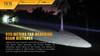 Fenix TK15 Ultimate Edt. LED Flashlight Outside