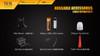 Fenix TK15 Ultimate Edt. LED Flashlight Accessories