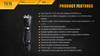 Fenix TK15 Ultimate Edt. LED Flashlight Specs