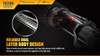 Fenix TK20R Rechargeable Tactical Flashlight Dual Layer