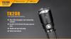 Fenix TK20R Rechargeable Tactical Flashlight Highlights