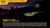 Fenix TK47 Dual-Purpose LED Flashlight Outside