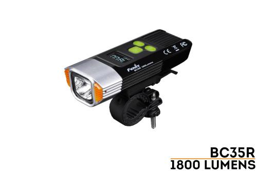 Fenix BC35R Rechargeable Bike Light - 1800 Lumens