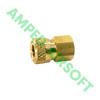 "Foster/ZSI - Brass - Quick - Disconnect 1/8"" Female (Slide Check QD)"