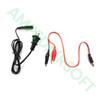 Tenergy - B450AC Compact Balance Charger for NiMH/Nicd/Lipo Packs Power Input Leads