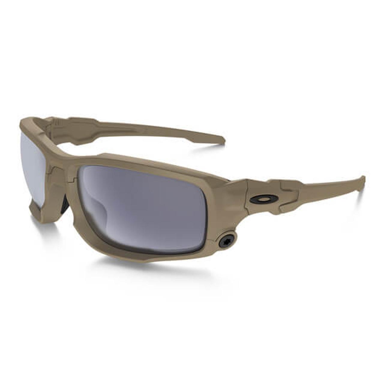 Oakley - SI Ballistic Shocktube (Terrain Tan Frame /w Grey Lens ...