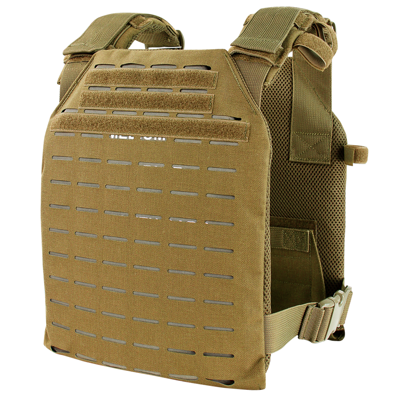Condor Lcs Sentry Plate Carrier Coyote Brown Amped