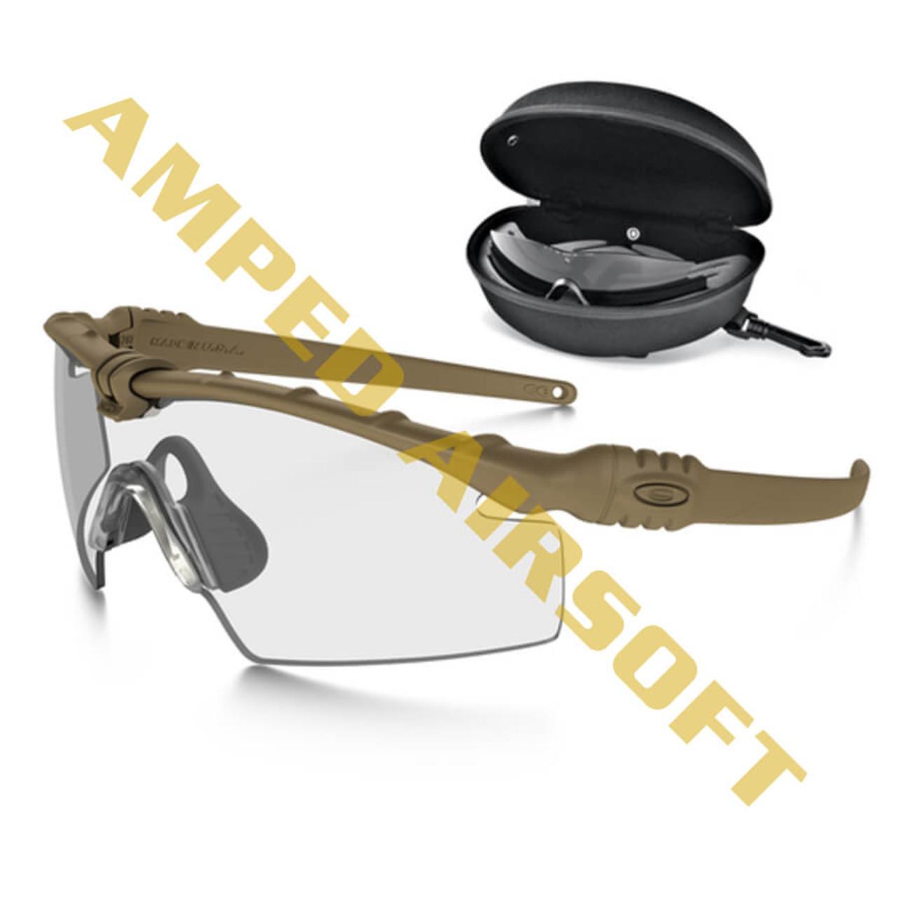 Oakley - SI Ballistic M Frame 3.0 - Dark Bone Frame w/ Array Clear ...