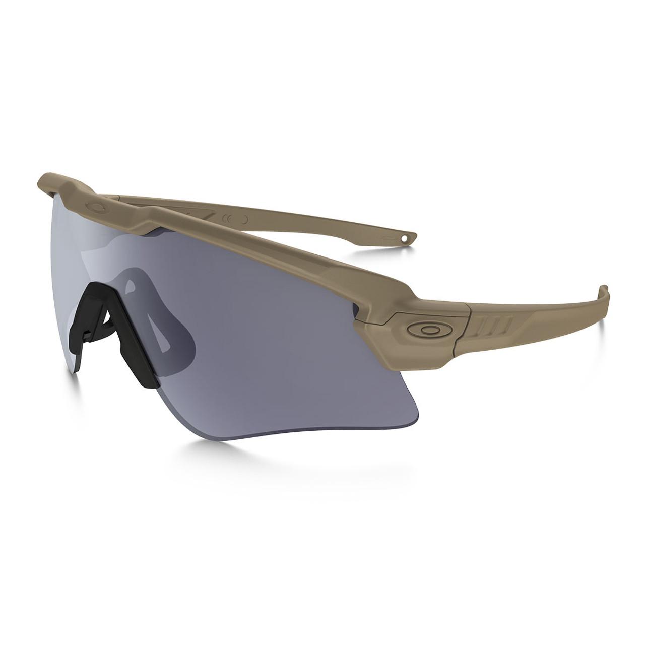Oakley - SI Ballistic M Frame Alpha - Terrain Tan Frame w/ Grey Lens ...