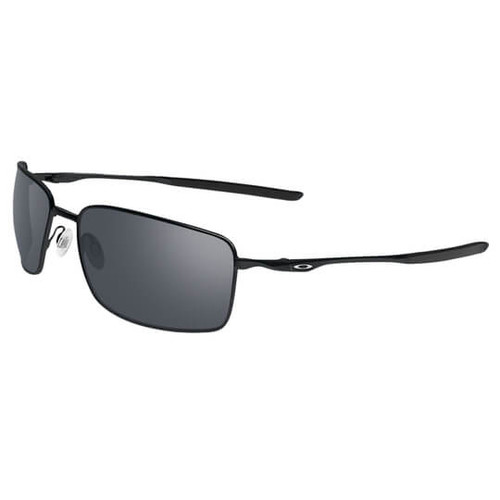 50ad0bd4d1 Oakley - Square Wire Polished Black  w Black Iridium Len) - Amped ...