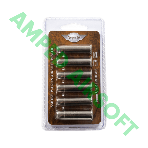 Umarex - Elite Force Legends Smoke Wagon Revolver 6 Pack of Shells (Silver)