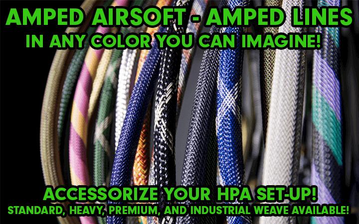 amped airsoft line agl igl ugl standard premium heavy industrial hpa