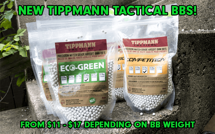 amped airsoft tippmann tactical bio bbs