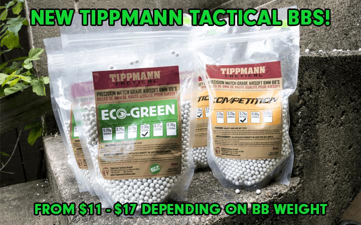 amped airsoft tippmann tactical bio bbs
