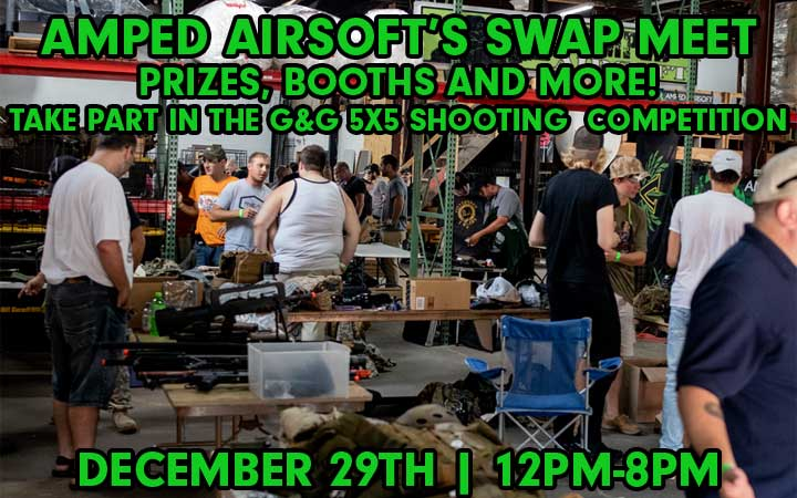 amped airsoft swap meet december 29th 2018