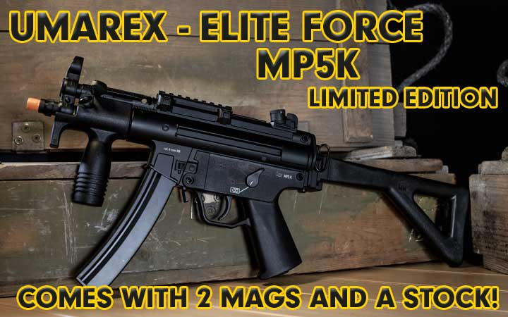 amped airsoft elite force mp5k limited edition kit