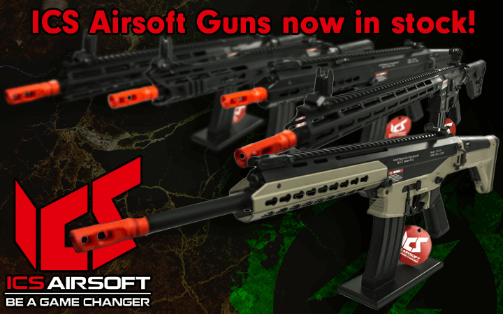 ICS Airsoft guns in stock amped airsoft