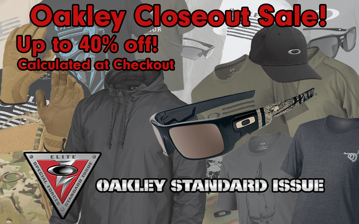 Amped Airsoft Oakley Closeout Sale 40& off at Checkout!