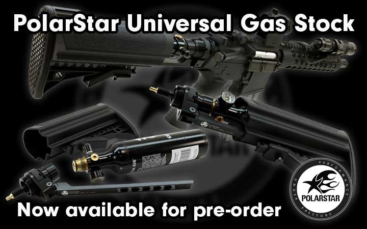 amped airsoft polarstar universal gas stock ugs pre order