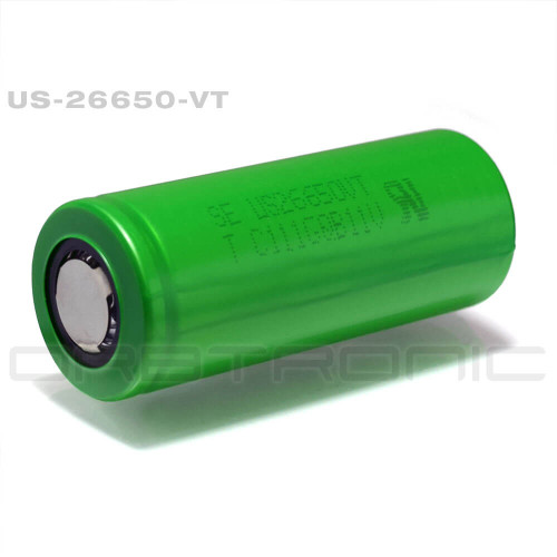 26650 Battery 5750mah 30a Button Top Imr Li Ion Orbtronic