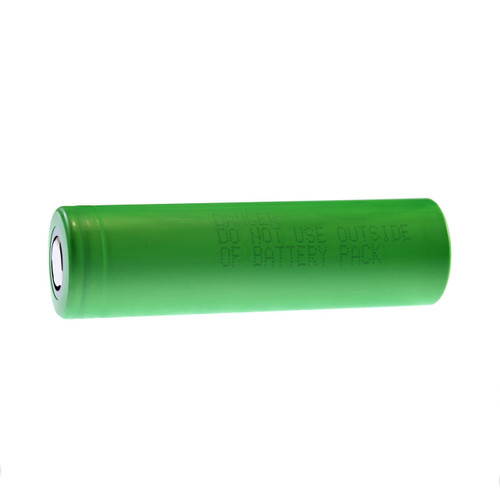 Sony VTC5A 18650 Battery Flat Top High Current-Drain US18650VTC5A Green IMR-Li-ion 3.7V - Batt. Case Included