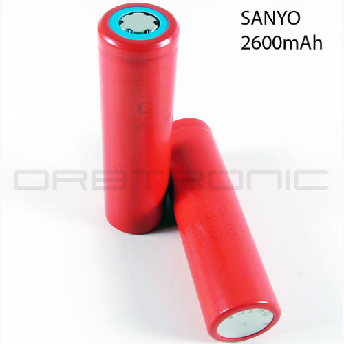SANYO 18650 Li-ion 3.7V Battery cell 2600mAh UR18650FM