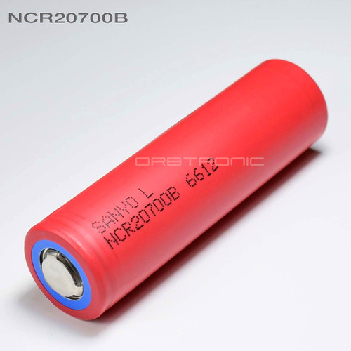 Sanyo-Panasonic NCR20700B 4250mAh Li-ion Rechargeable 20700 Battery